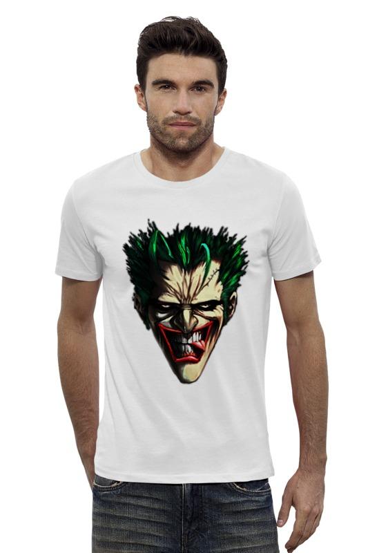 Футболка Wearcraft Premium Slim Fit Printio Джокер   joker футболка wearcraft premium slim fit printio joker