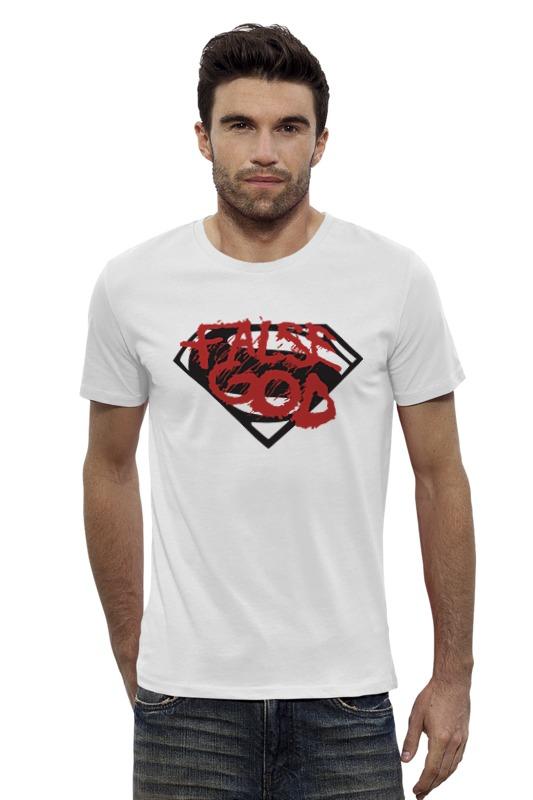 Футболка Wearcraft Premium Slim Fit Printio False god (batman x superman) лонгслив printio ice king x batman