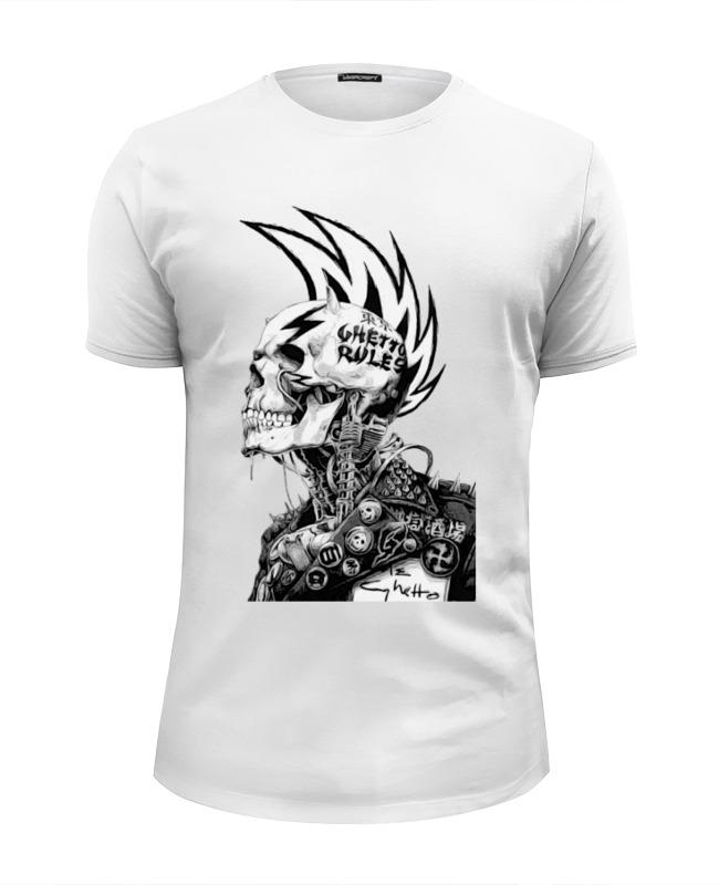Футболка Wearcraft Premium Slim Fit Printio Punks not dead футболка wearcraft premium slim fit printio dead pool