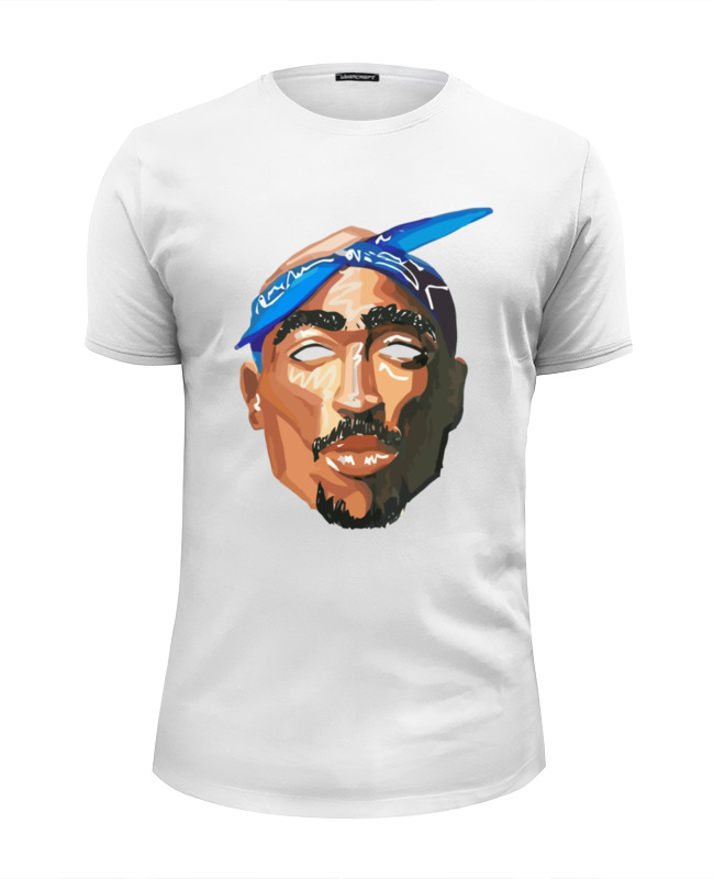 Футболка Wearcraft Premium Slim Fit Printio Тупак (2pac) футболка wearcraft premium printio тупак шакур 2pac