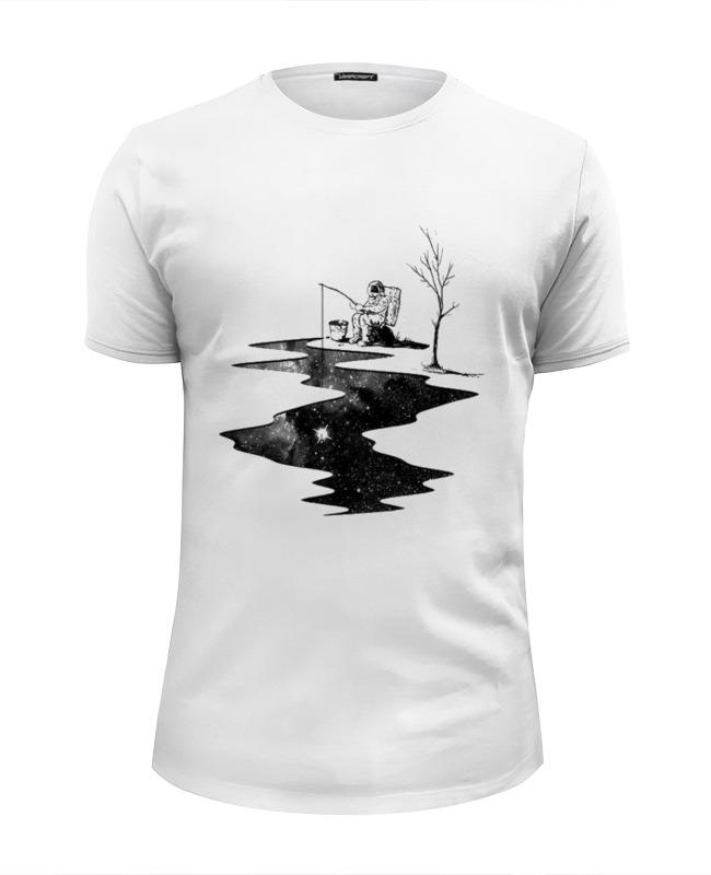 Футболка Wearcraft Premium Slim Fit Printio Космос футболка wearcraft premium slim fit printio космос