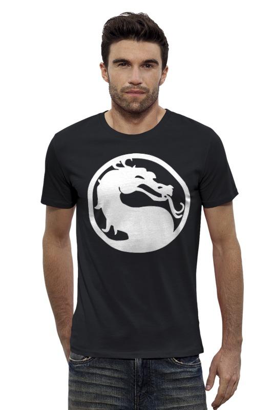 Футболка Wearcraft Premium Slim Fit Printio Mortal kombat (мортал комбат)