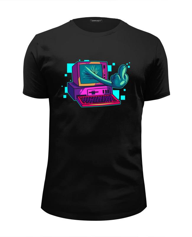 Футболка Wearcraft Premium Slim Fit Printio Компьютер