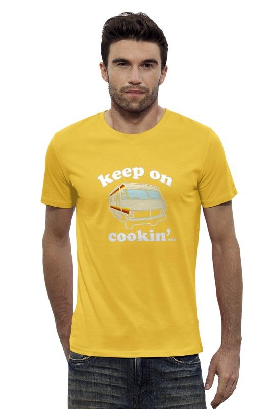 Футболка Wearcraft Premium Slim Fit Printio Keep on cookin (breaking bad) футболка wearcraft premium printio keep calm