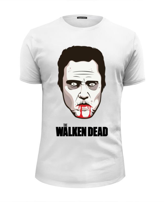 Футболка Wearcraft Premium Slim Fit Printio Валкен (ходячие мертвецы) футболка wearcraft premium slim fit printio зловещие мертвецы