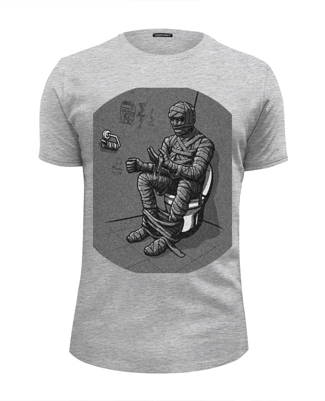Футболка Wearcraft Premium Slim Fit Printio Mummy футболка wearcraft premium slim fit printio mummy pig