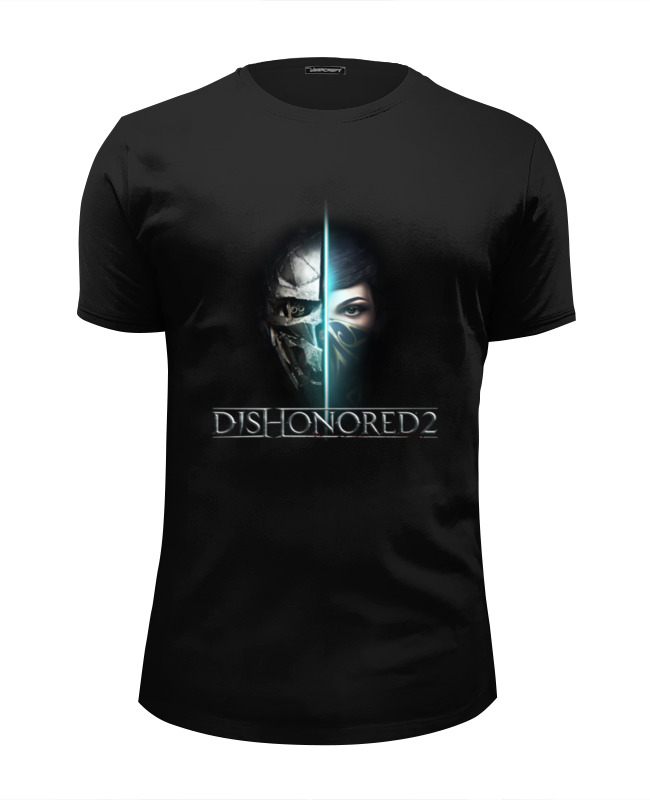 Футболка Wearcraft Premium Slim Fit Printio Dishonored 2 dishonored 2 ps4