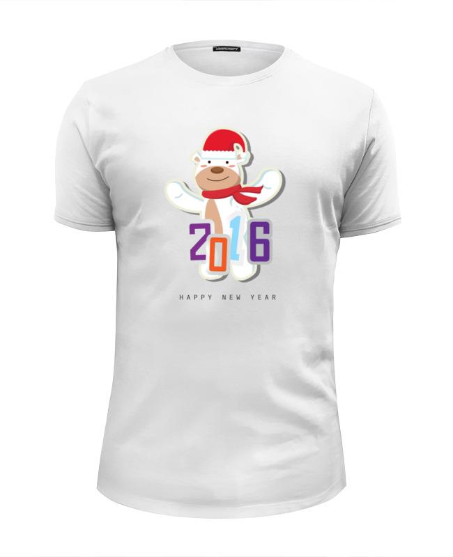 Футболка Wearcraft Premium Slim Fit Printio Мишка с севера футболка wearcraft premium printio мишка с севера