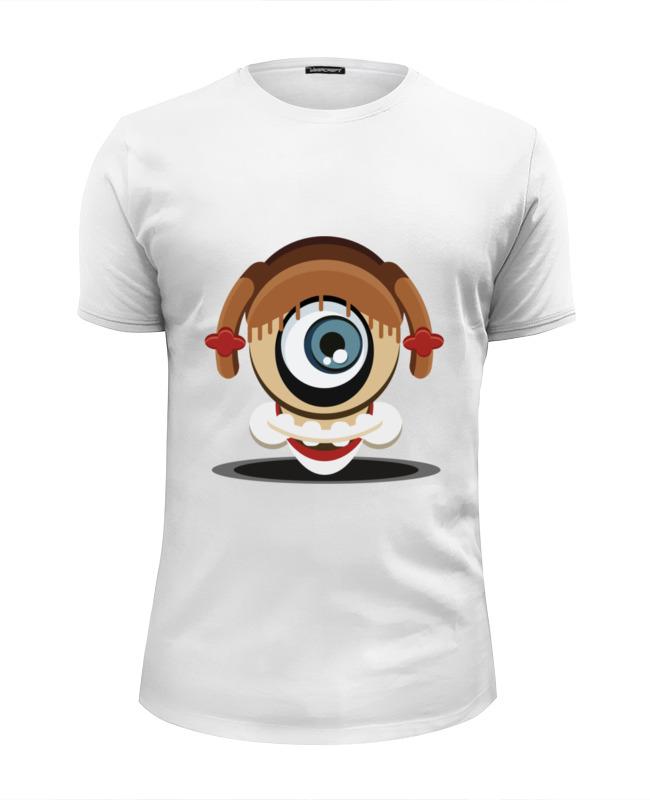 Футболка Wearcraft Premium Slim Fit Printio Кожаное лицо футболка рингер printio техасская резня бензопилой