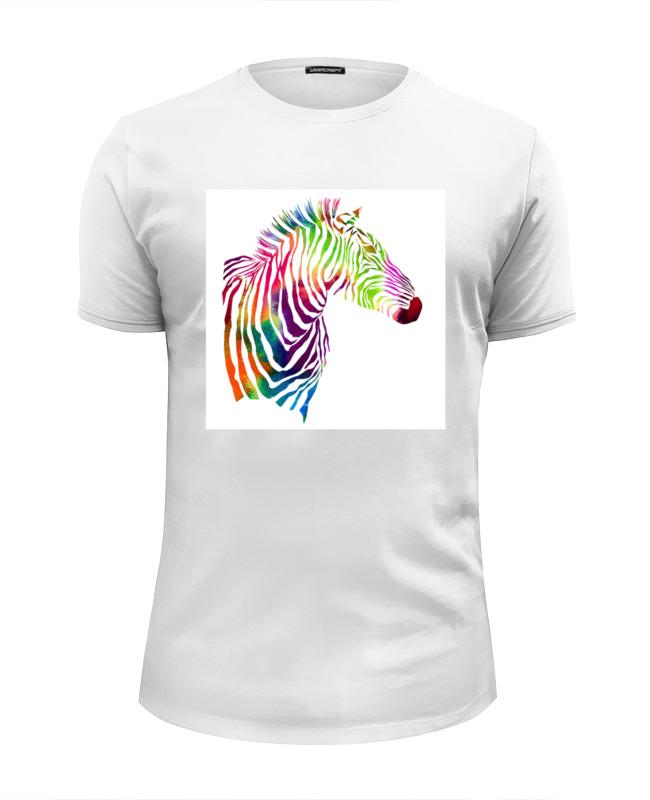 Футболка Wearcraft Premium Slim Fit Printio My zebra