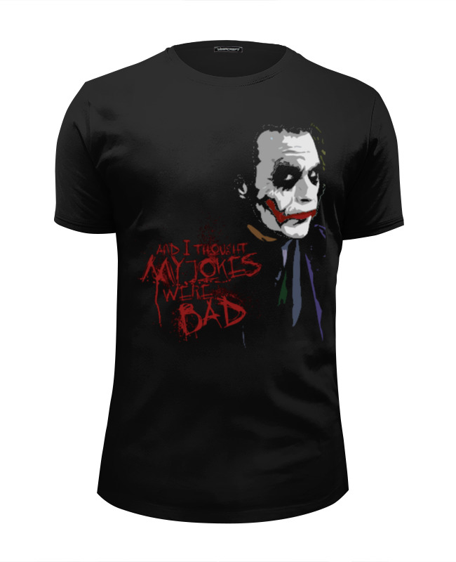 Футболка Wearcraft Premium Slim Fit Printio Joker joker