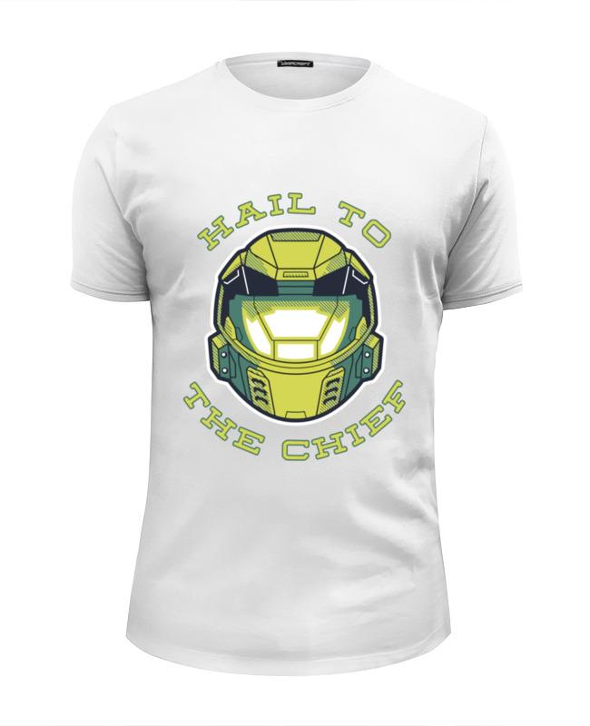 Футболка Wearcraft Premium Slim Fit Printio Хало (halo) футболка wearcraft premium slim fit printio боулинг