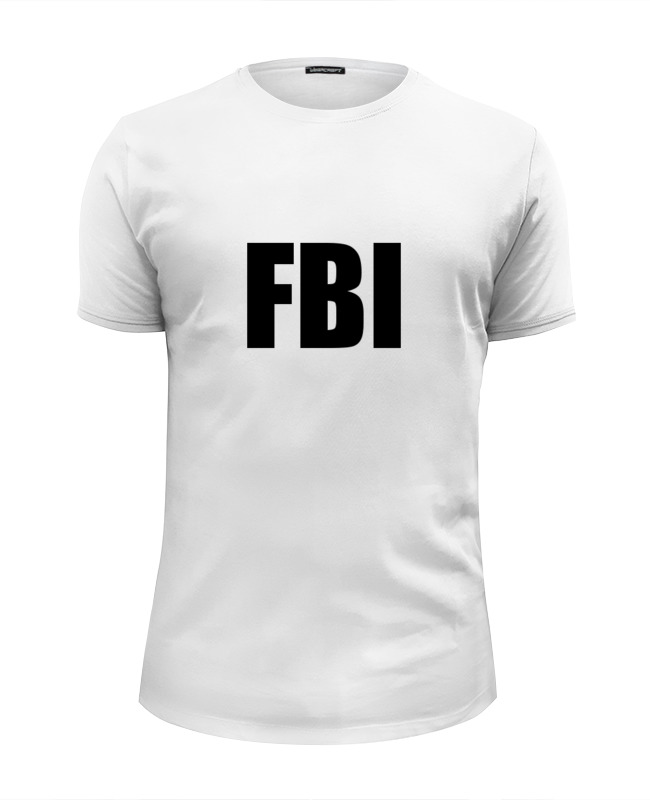 Футболка Wearcraft Premium Slim Fit Printio Fbi фбр футболка классическая printio fbi фбр