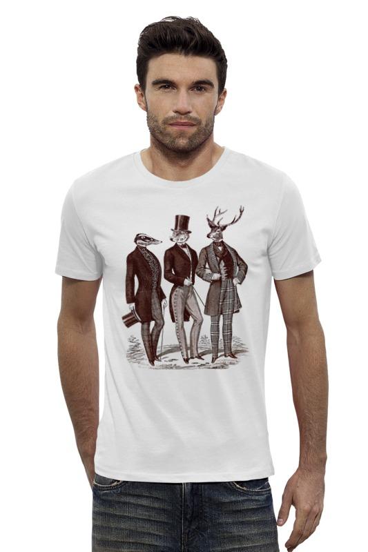 Футболка Wearcraft Premium Slim Fit Printio Джентльмены футболка классическая printio джентльмены удачи