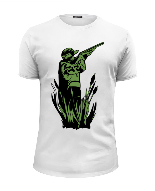 Футболка Wearcraft Premium Slim Fit Printio Охотник футболка wearcraft premium printio седьмое небо