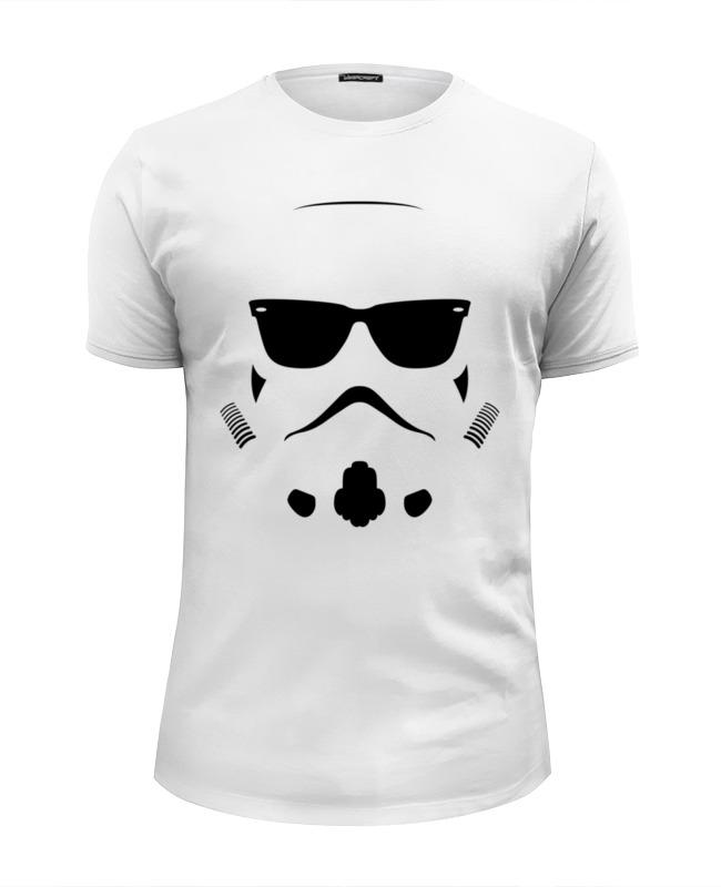Футболка Wearcraft Premium Slim Fit Printio Штурмовик. звёздные войны футболка wearcraft premium slim fit printio star wars штурмовик