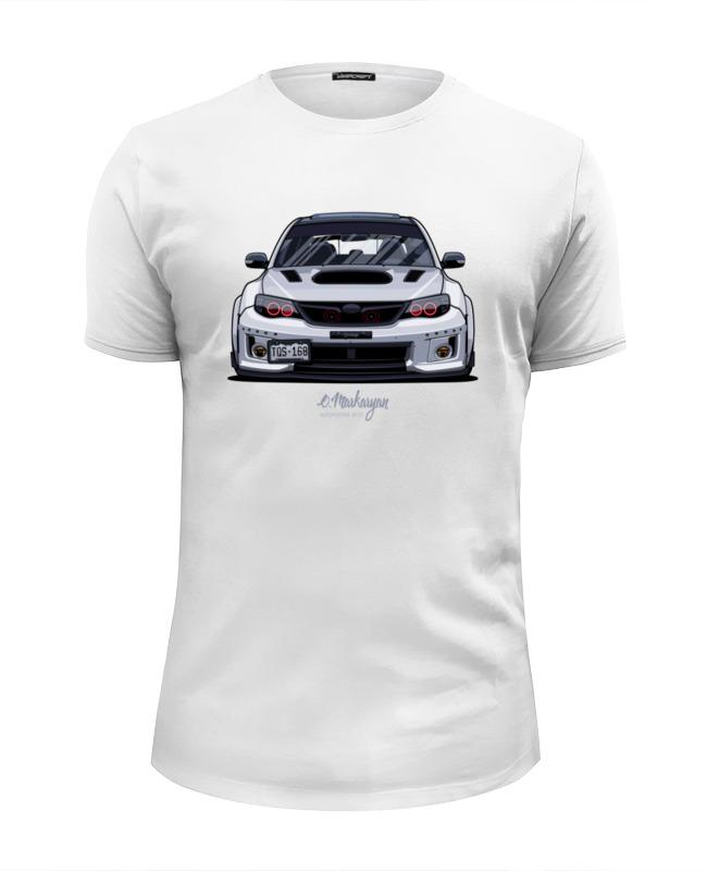 Футболка Wearcraft Premium Slim Fit Printio Subaru face футболка wearcraft premium printio subaru sti