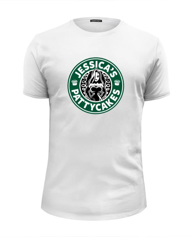 Футболка Wearcraft Premium Slim Fit Printio Джессика рэббит (jessica's pattycakes) футболка wearcraft premium printio rabbit cool mix крутой кроличий микс