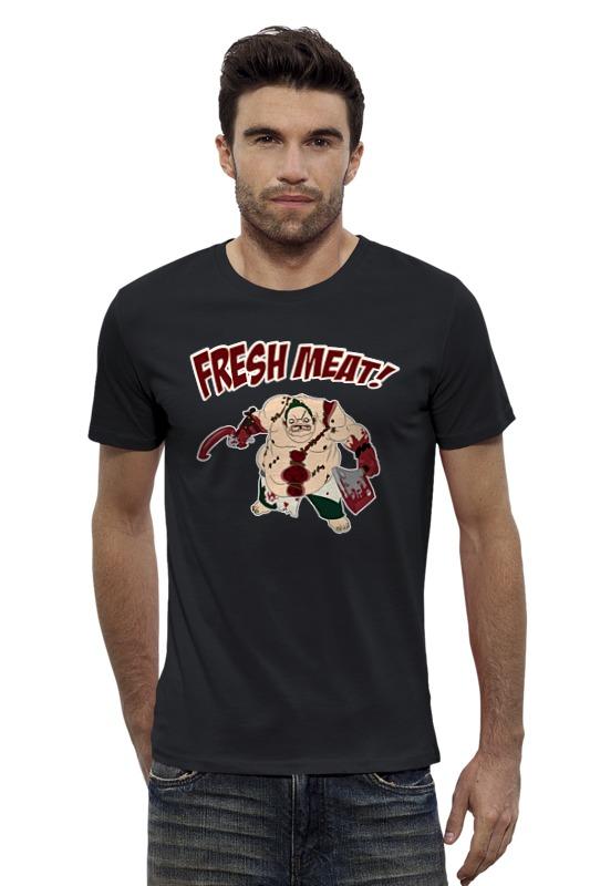 Футболка Wearcraft Premium Slim Fit Printio Pudge. dota 2 футболка wearcraft premium slim fit printio saints row 2 blak