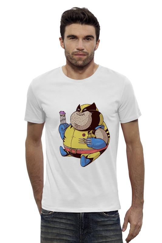 Футболка Wearcraft Premium Slim Fit Printio Fat wolverine футболка wearcraft premium slim fit printio the wolverine росомаха