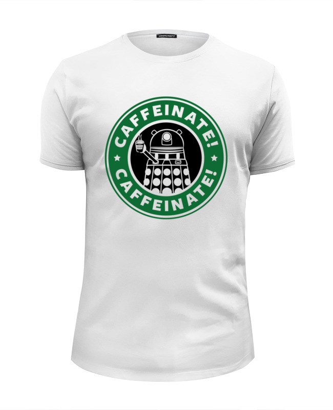 Футболка Wearcraft Premium Slim Fit Printio Daleks (starbucks) футболка wearcraft premium printio belles book cafe starbucks