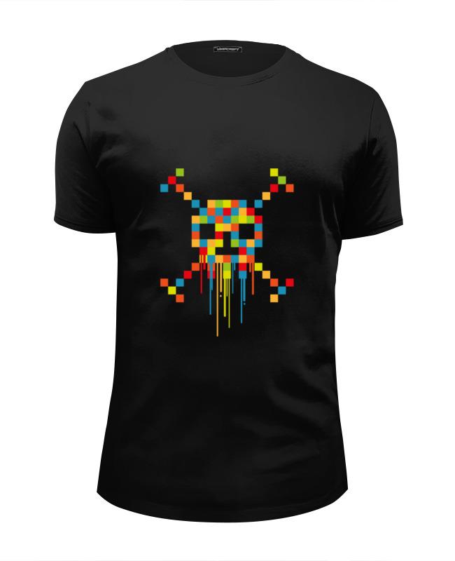 Футболка Wearcraft Premium Slim Fit Printio Пиксельный череп футболка wearcraft premium slim fit printio пиксельный штурмовик