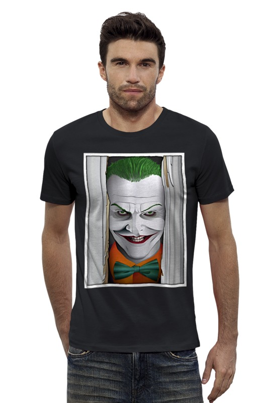 Футболка Wearcraft Premium Slim Fit Printio Joker футболка wearcraft premium slim fit printio кит