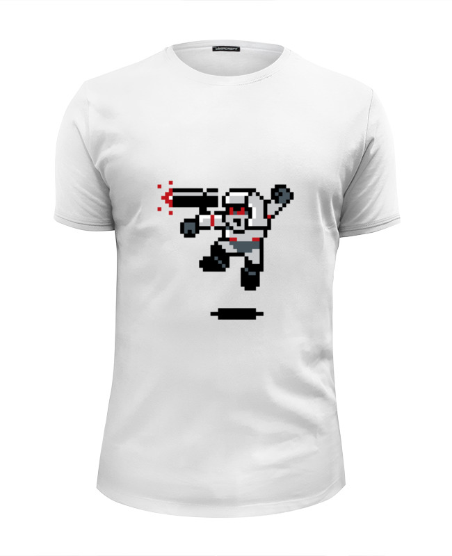 Футболка Wearcraft Premium Slim Fit Printio Мегатрон (мегамен) футболка wearcraft premium slim fit printio мегатрон мегамен