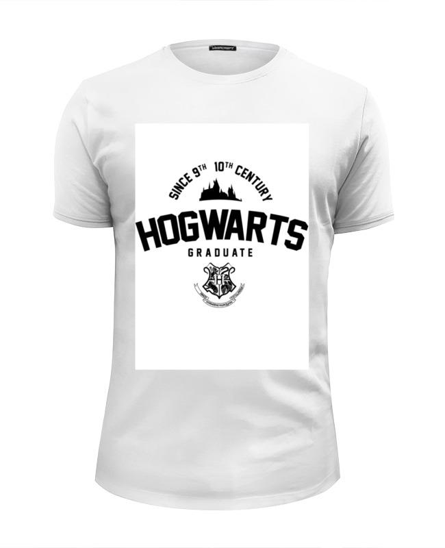 Футболка Wearcraft Premium Slim Fit Printio Hogwarts graduate футболка wearcraft premium slim fit printio democracy by design ministry