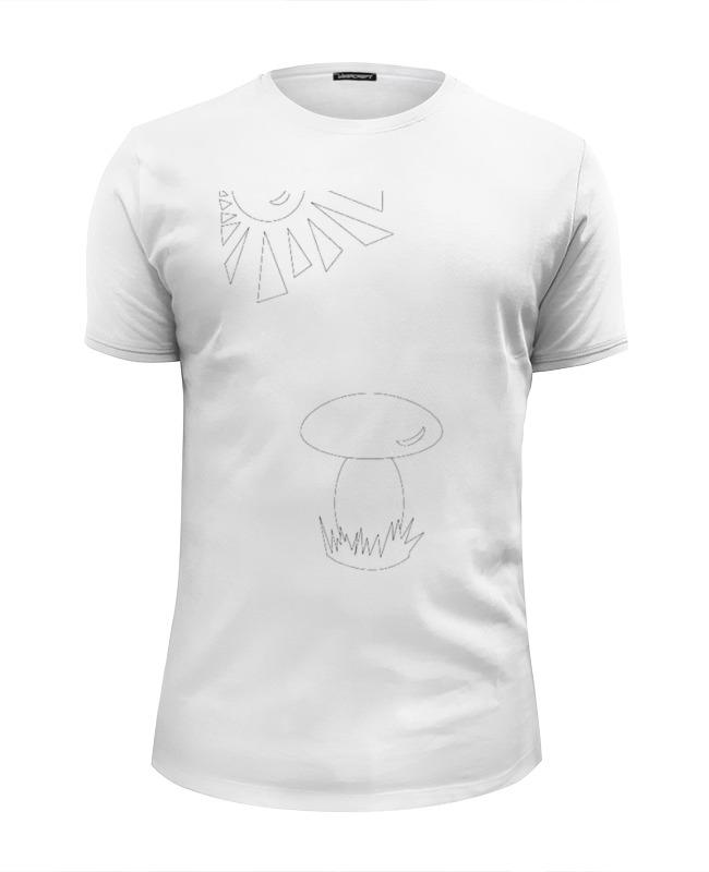 Футболка Wearcraft Premium Slim Fit Printio Color me футболка классическая printio color me