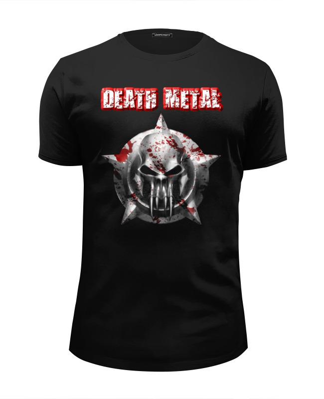 лучшая цена Футболка Wearcraft Premium Slim Fit Printio Death metal