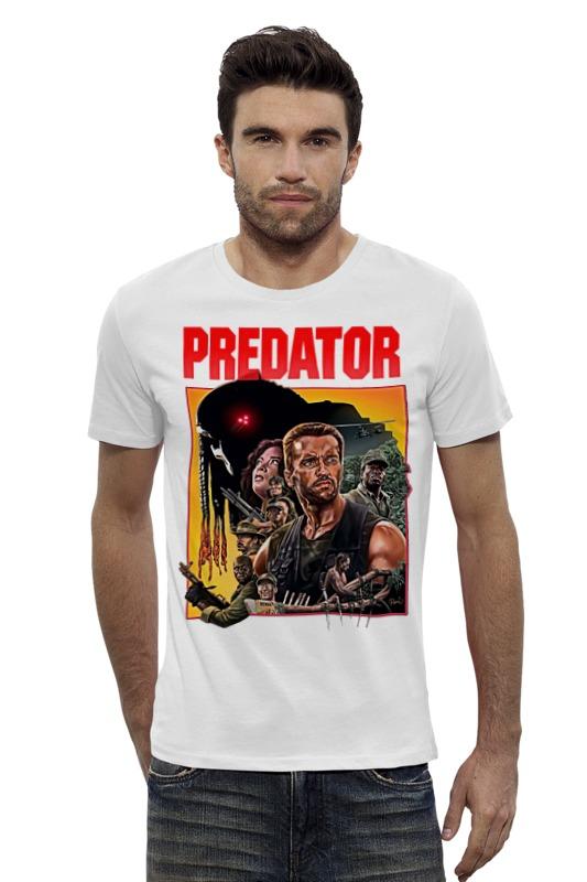 Футболка Wearcraft Premium Slim Fit Printio Predator футболка wearcraft premium slim fit printio vampire