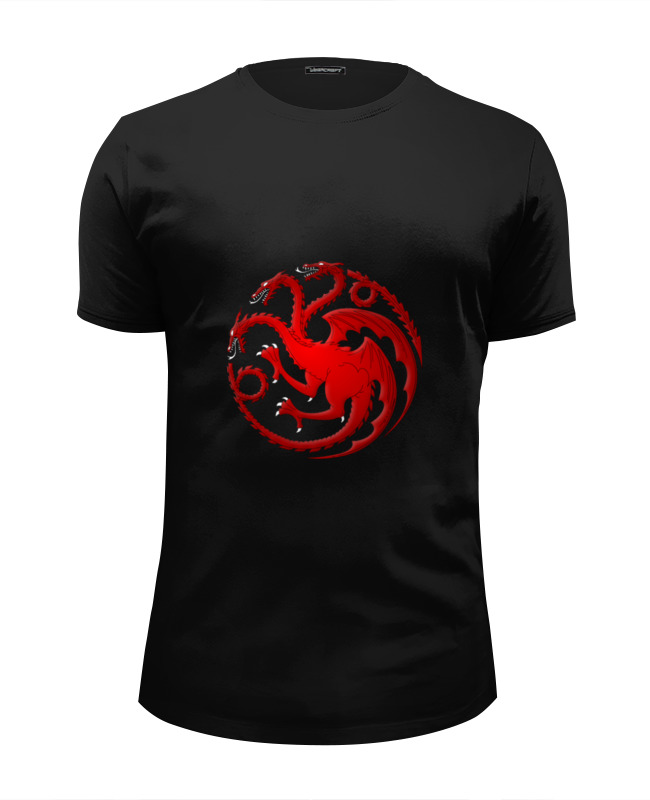 Футболка Wearcraft Premium Slim Fit Printio House targaryen футболка house