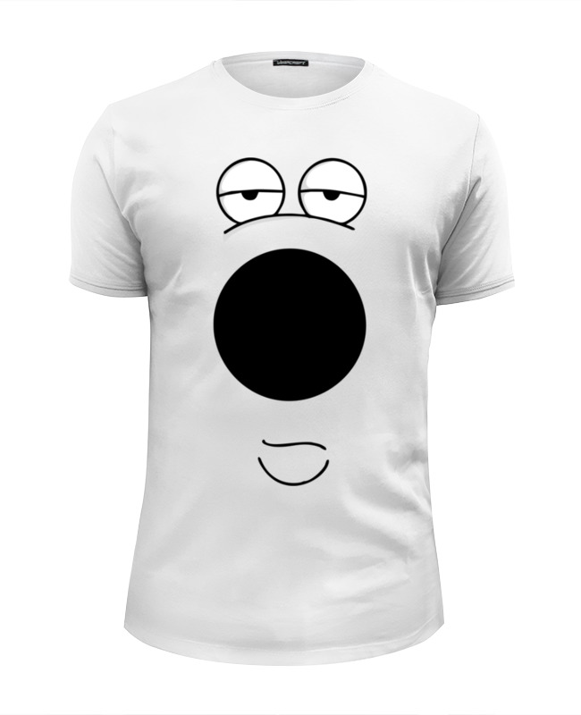 Футболка Wearcraft Premium Slim Fit Printio Фан арт брайн из грифинов футболка wearcraft premium slim fit printio фан арт морфинг из доты