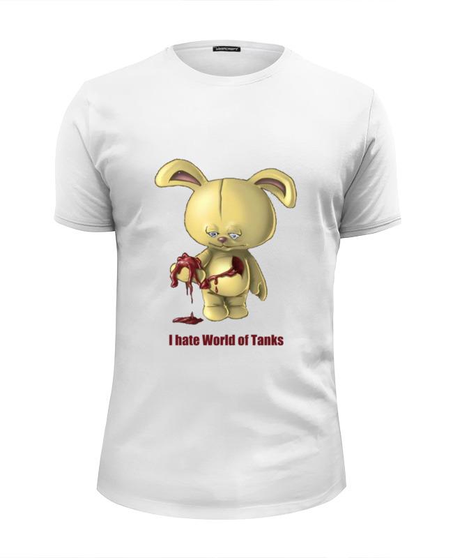 Футболка Wearcraft Premium Slim Fit Printio Ненавижу танчики футболка wearcraft premium slim fit printio танки для dendy