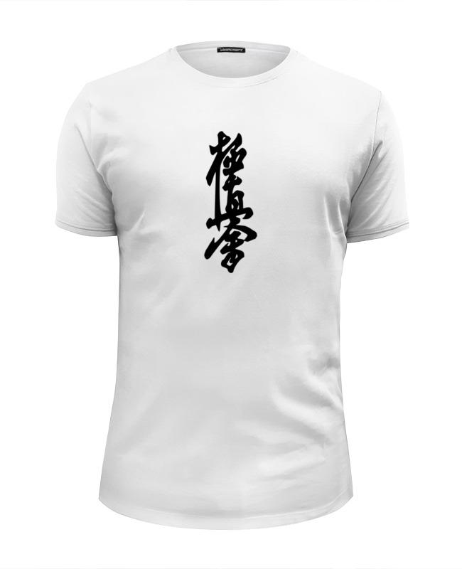 Футболка Wearcraft Premium Slim Fit Printio Kyokushinkai сумка printio kyokushinkai