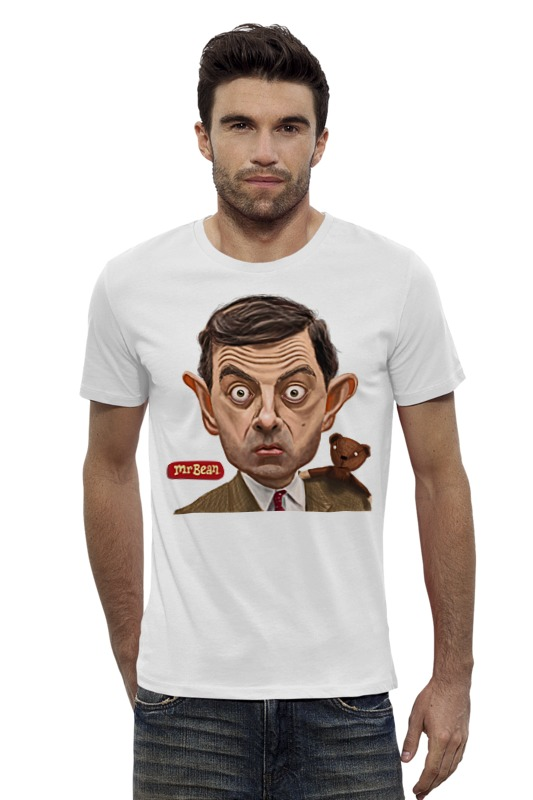 Футболка Wearcraft Premium Slim Fit Printio Mr.bean футболка wearcraft premium slim fit printio шахматиста