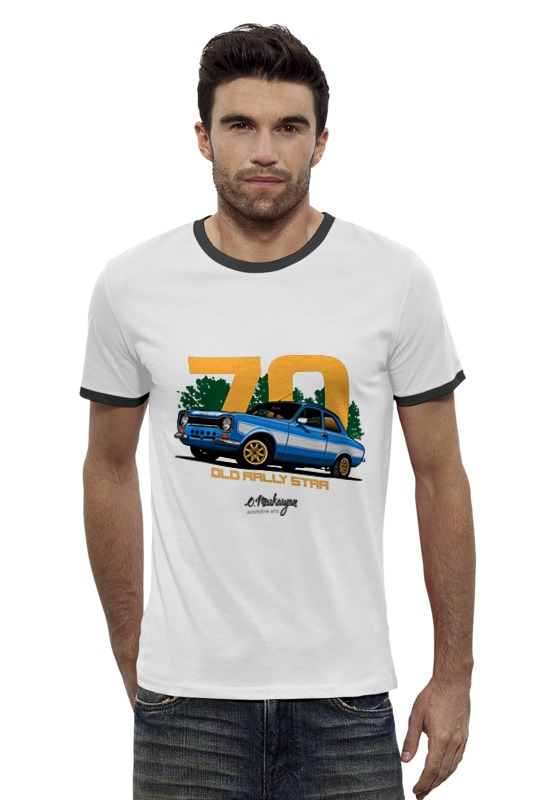 Футболка Wearcraft Premium Slim Fit Printio Escort rs ford escort в спб