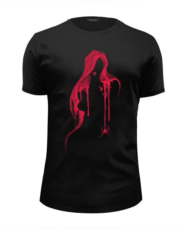 Футболка Wearcraft Premium Slim Fit Printio Чёрная вдова футболка с полной запечаткой женская printio чёрная вдова black widow