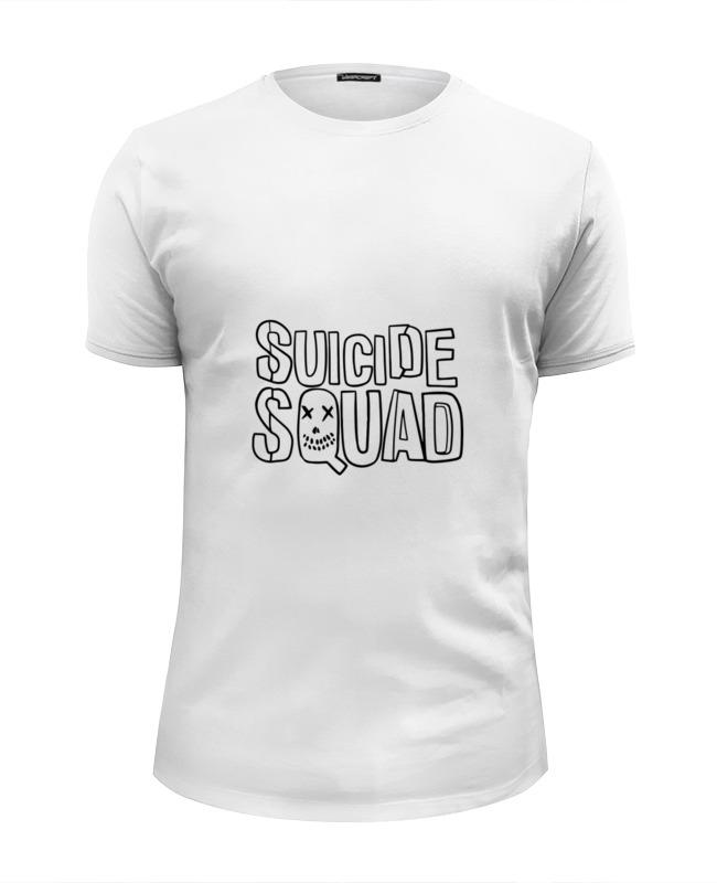 купить Футболка Wearcraft Premium Slim Fit Printio Отряд самоубийц (suicide squad) по цене 1690 рублей