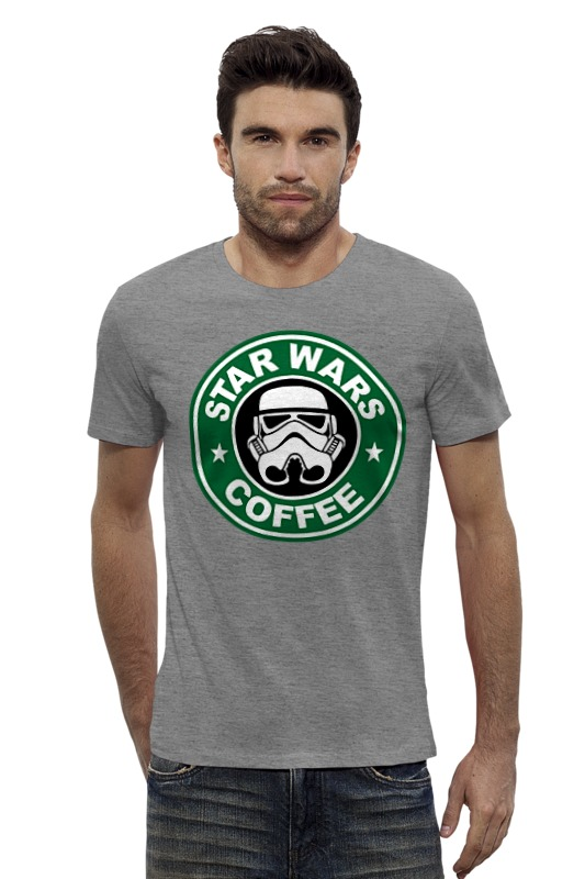 Футболка Wearcraft Premium Slim Fit Printio Star wars coffee футболка wearcraft premium slim fit printio stop wars украина