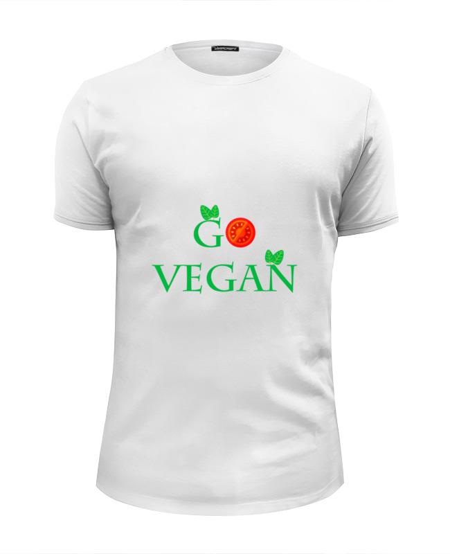 Printio Go vegan футболка print bar hail seitan go vegan