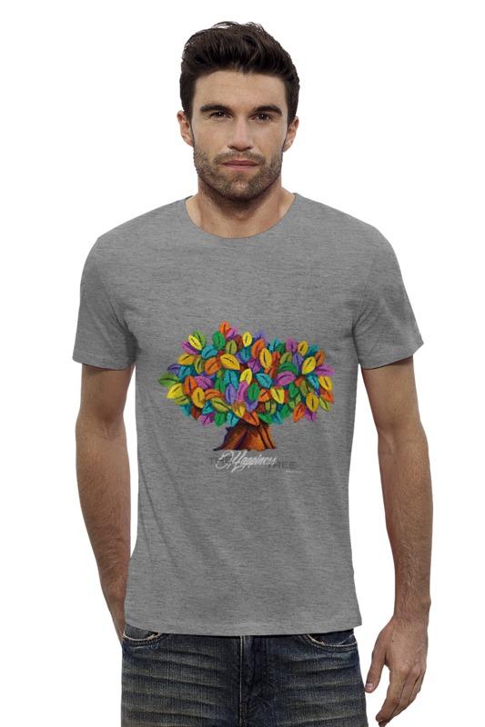 Футболка Wearcraft Premium Slim Fit Printio Дерево счастья дерево счастья 15100053р