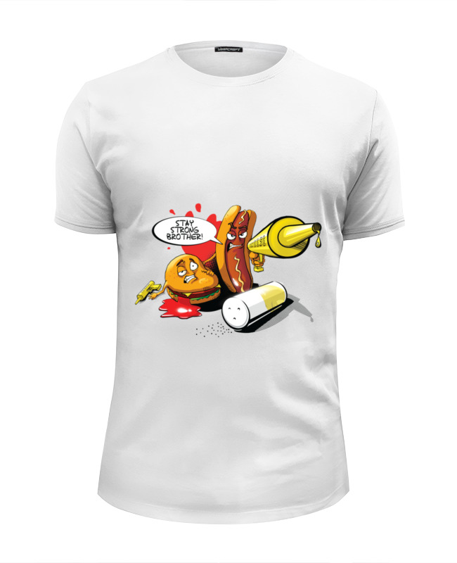 Футболка Wearcraft Premium Slim Fit Printio Gang food футболка wearcraft premium slim fit printio junk food gang