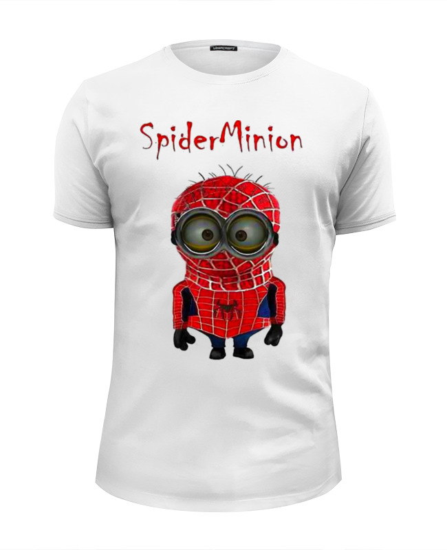 Футболка Wearcraft Premium Slim Fit Printio Spider minion футболка wearcraft premium slim fit printio spider man