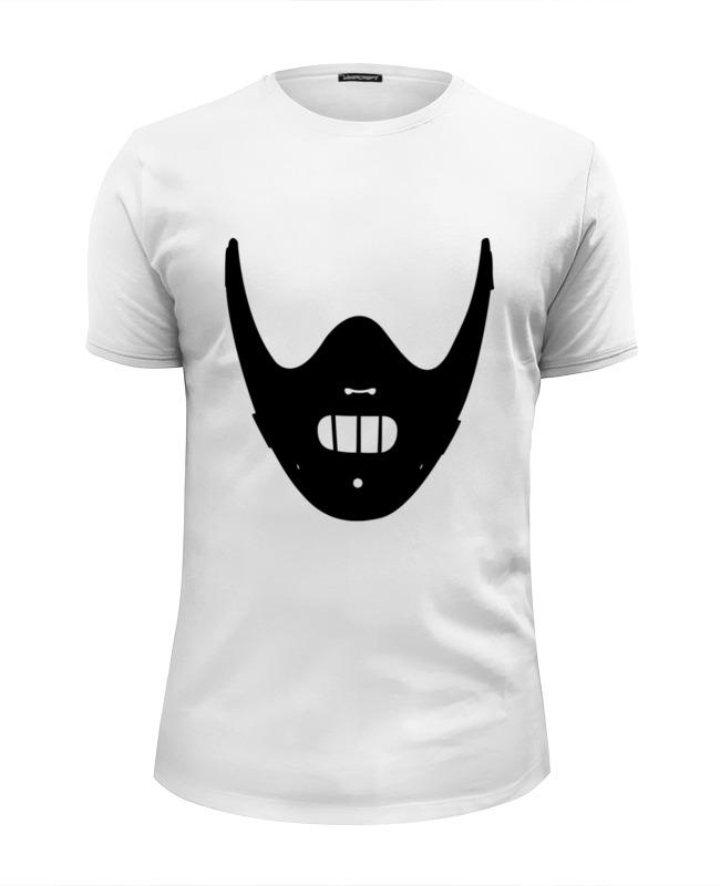 Футболка Wearcraft Premium Slim Fit Printio Ганнибал лектер (hannibal lectеr) футболка wearcraft premium printio китайский дракон