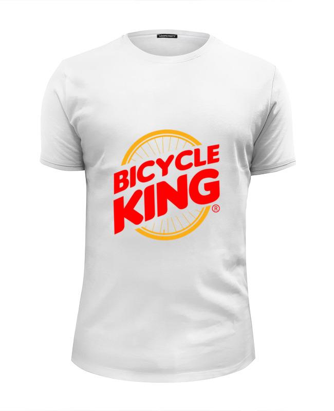 Футболка Wearcraft Premium Slim Fit Printio Велосипедный король футболка wearcraft premium slim fit printio король севера