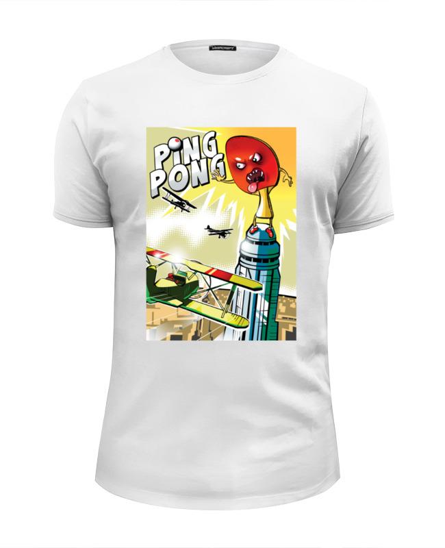 Футболка Wearcraft Premium Slim Fit Printio King pong футболка wearcraft premium slim fit printio добро пожаловать