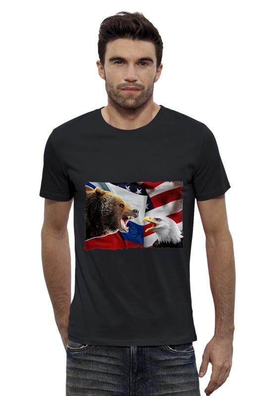 Футболка Wearcraft Premium Slim Fit Printio Медведь футболка wearcraft premium slim fit printio avengers