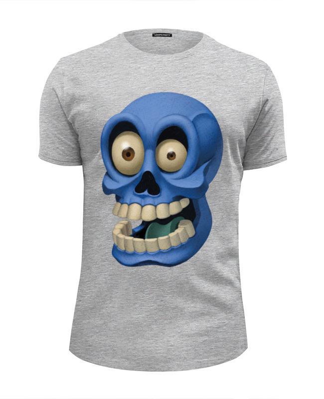 Футболка Wearcraft Premium Slim Fit Printio Веселый черепок футболка wearcraft premium slim fit printio веселый бараш